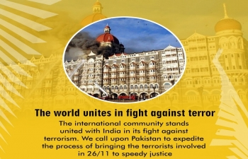 A Tribute to Martyrs on 10th Anniversary of Mumbai Terror Attack 26/11